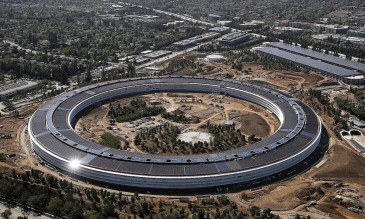 Vídeo: drone mostra detalhes da nova sede da Apple, o prédio