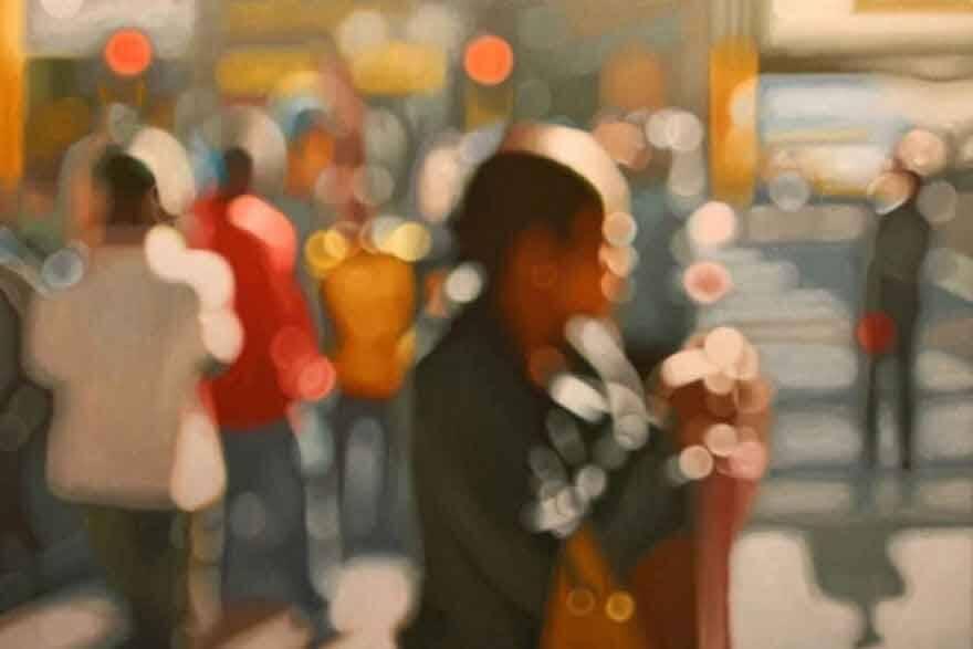 Artista revela como míopes enxergam o mundo em quadros incríveis. Foto: Divulgação