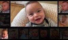 """Bebê """"canta"""" clássico do AC/DC em montagem feita pelo pai"""