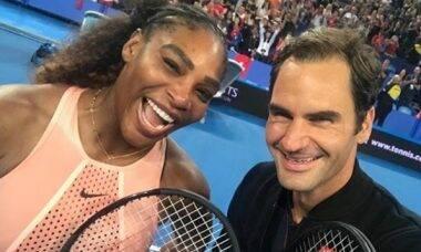 Serena Williams e Federer se unem para ajudar vítimas de incêndios na Austrália