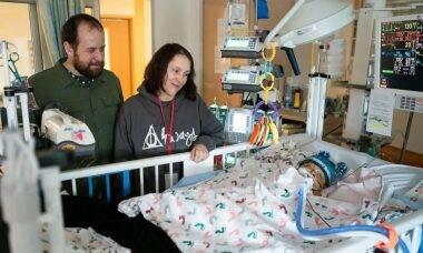 Pai emagrece 18 quilos para doar fígado ao filho