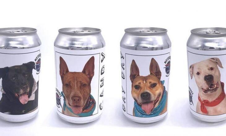 Mulher reencontra cachorro perdido graças a anúncio de cerveja