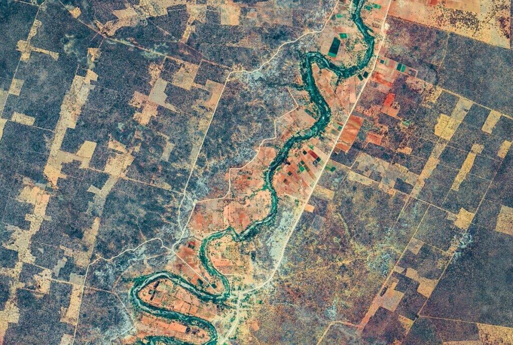 Dez lugares impressionantes flagrados pelo Google Earth