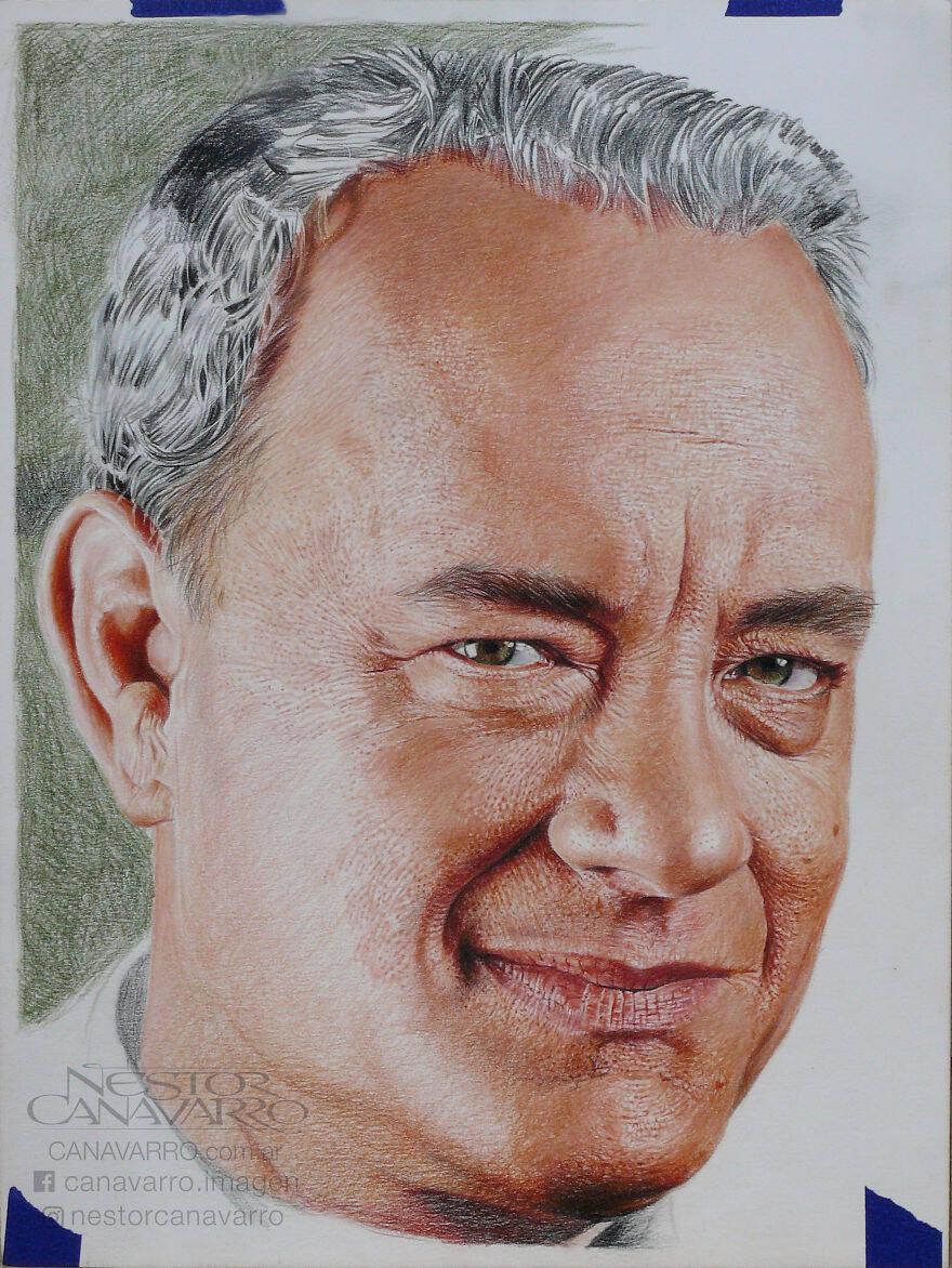 Ilustrador argentino cria retratos realistas que parecem fotos
