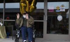 Veterano de guerra de 104 anos é mais velho a se curar da covid-19