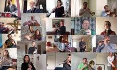 Isolados, músicos franceses tocam o Bolero de Ravel em video