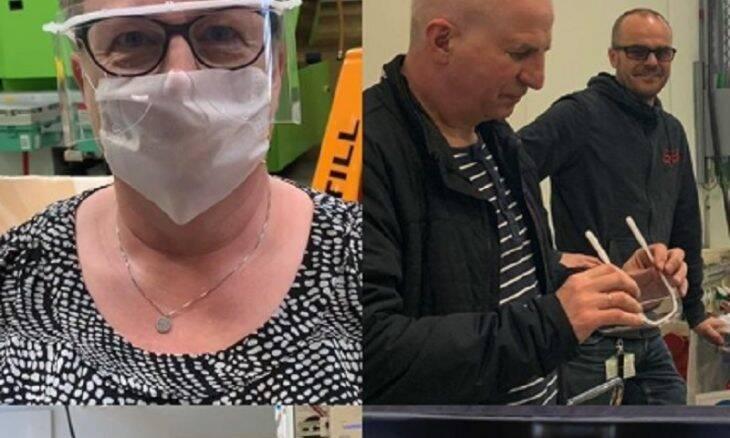 Lego produz máscaras para equipes médicas da Dinamarca