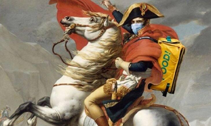 Obras de arte são adaptadas para a quarentena
