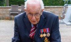 Veterano da Segunda Guerra arrecada 2,6 milhões de libras para o combate ao covid-19