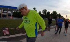Aos 96 anos, veterano de guerra quer percorrer os EUA à pé