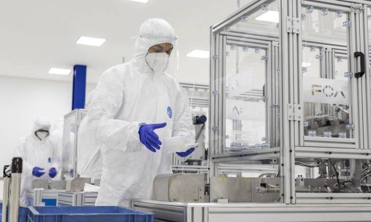 Fiat inicia produção de máscaras cirúrgicas em Betim