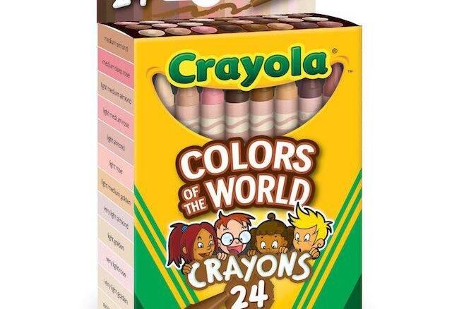 Crayola lança giz de cera com diversos tons de pele
