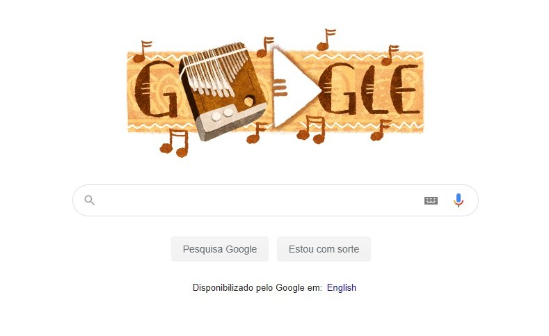 Mbira, instrumento musical do Zimbabue, vira Doodle no Google