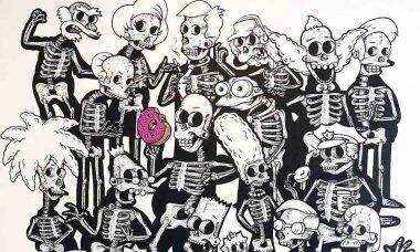 Artista imagina raio-x de personagens da cultura pop. Foto: Reprodução Instagram