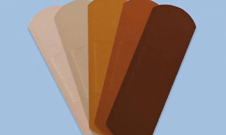 Band-Aid anuncia curativos para diferentes tons de pele