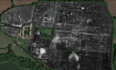 Radar revela cidade romana escondida debaixo da terra