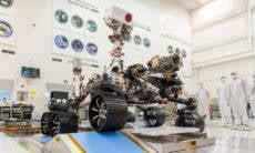 Robô da Nasa vai levar para Marte homenagem aos profissionais da saúde