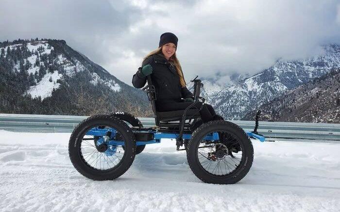 YouTuber cria cadeira de rodas off-road e começa a produzi-la em série