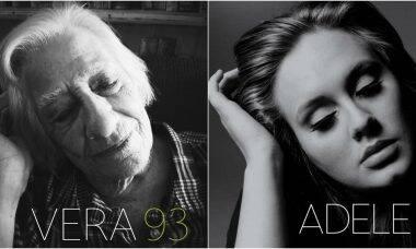 Abrigo de idosos na Inglaterra recria capas de discos