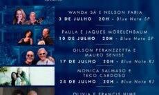 Blue Note São Paulo e Blue Note Rio Apresentam Lives Pela Arte