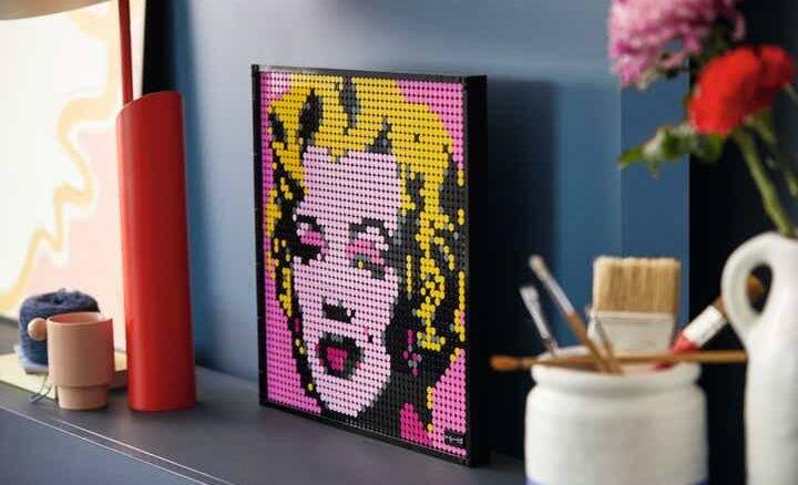 Lego lança quadros montáveis de Marilyn Monroe, Beatles, Star Wars e Homem de Ferro
