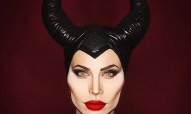Drag inglesa se transforma em qualquer celebridade usando maquiagem