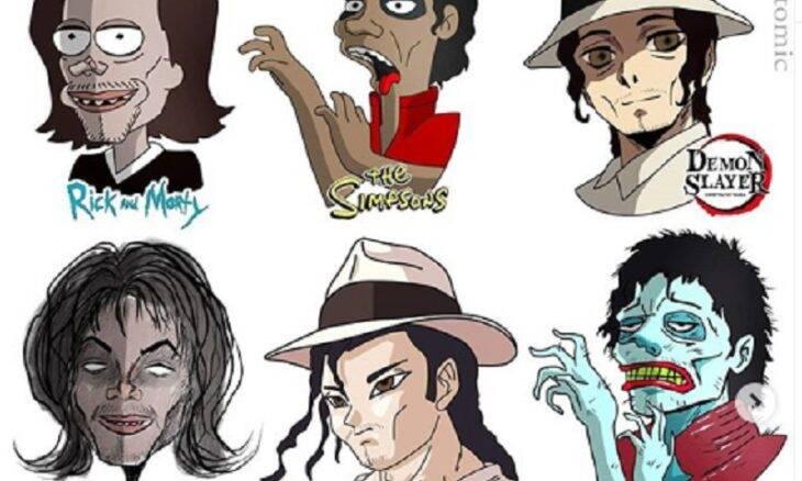 Artista imagina celebridades no estilo de séries animadas