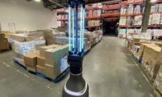 Cientistas criam robô capaz de desinfectar ambientes