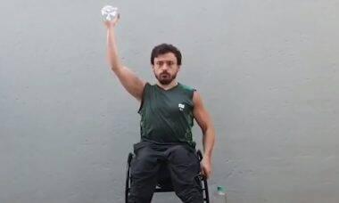 CPB cria treinos físicos para pessoas com deficiência