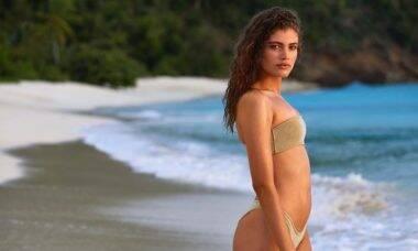Brasileira Valentina Sampaio é a primeira modelo trans a posar para a Sports Illustrated