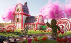Projeto transforma jardins desenhados por crianças em projetos quase reais
