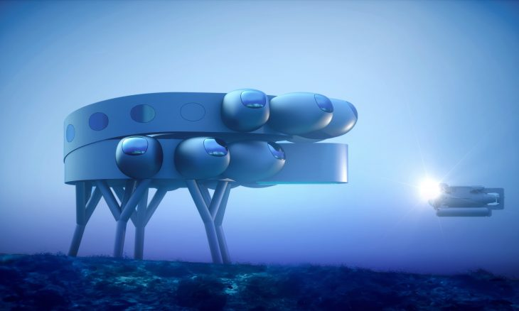 Fabien Cousteau quer construir estação subaquática internacional