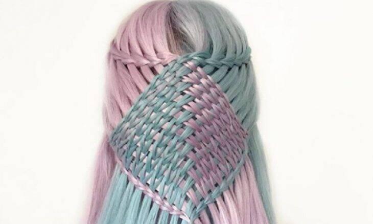 Adolescente cria penteados impressionantes que parecem padrões de crochê