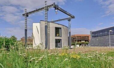 Empresa belga cria casa impressa em 3D
