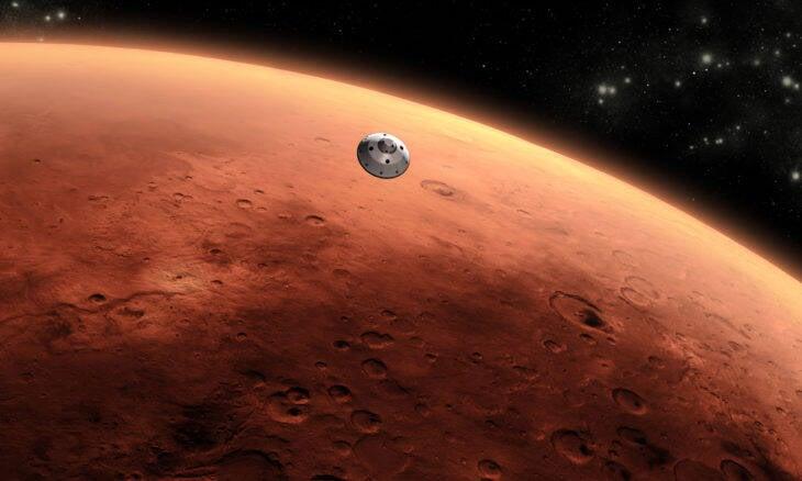 Túneis de lava podem abrigar humanos em Marte