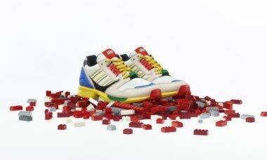 Adidas cria tênis inspirado em Lego