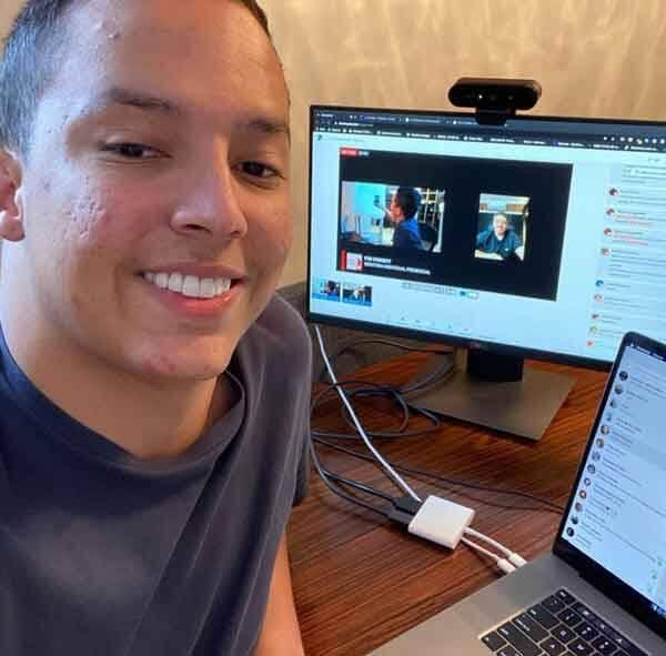 Sucesso nas redes sociais, Otávio Passos conta com mais de 115 mil seguidores em sua conta no Instagram. Foto: Divulgação