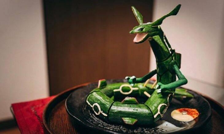 Artista japonês transforma comida em obras de arte