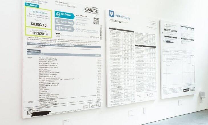Gastos médicos são transformados em telas nos EUA