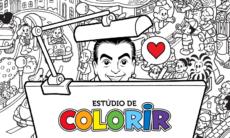 Aplicativo permite colorir desenhos da Turma da Mônica