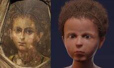 Cientistas recriam rosto de múmia de criança de 2 mil anos