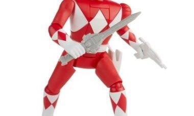 """Hasbro vai relançar bonecos """"gira-cabeça"""" dos Power Rangers"""