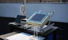 Cientistas criam máquina solar que tira água potável do ar