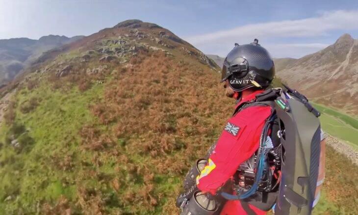 Jet pack é testado em missões de resgate em áreas remotas