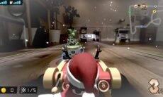 Nintendo traz Mario Kart para dentro de casa