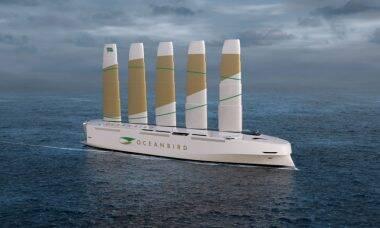 Empresa sueca quer lançar veleiro capaz de transportar 7 mil carros