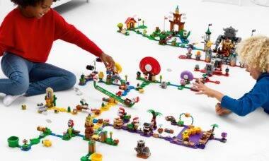 Lego Super Mario ganha expansões com novos itens