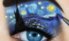 Maquiadora cria obras de arte nas pálpebras