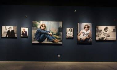 """Últimos dias no ano para visitar a exposição """"John Lennon em Nova York por Bob Gruen"""""""