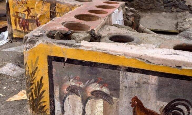 Arqueólogos descobrem ruínas de fast-food da antiguidade